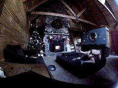 Грудастая зрелая дама трахается перед домашней скрытой камерой