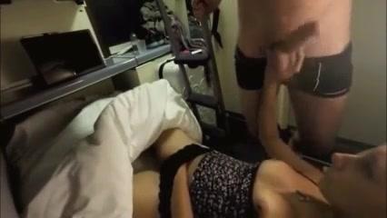 Развратница мастурбирует киску и дрочит член для окончания на сиськи