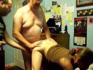 Реальный любительский секс со зрелой дамой в присутствии гостя
