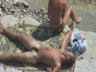 Секс видео камера на пляже