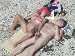 Скрытая камера пляж порно