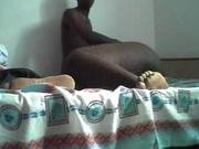 Афро французская пара снялась в любительском порно, толстуха негритянка такая прелесть