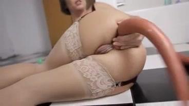 Фото анальная мастурбация зрелых в чулках фото 183-165