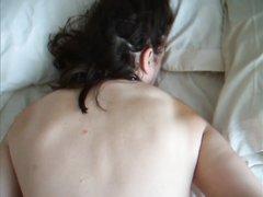 Анальный секс с БДСМ намного интереснее, муж связал любимой руки за спиной и трахнул большую попу