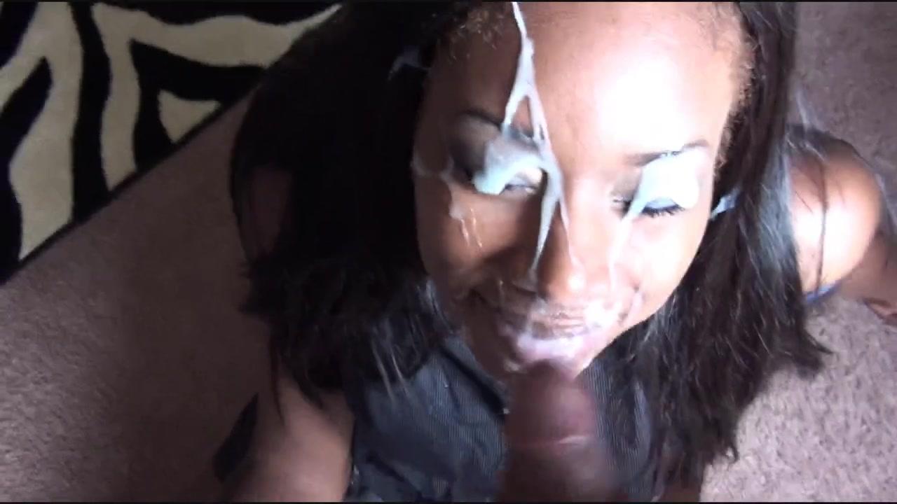 Порно видео негретянка вся в сперме
