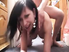 Порно наклон к полу