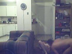Сосед на скрытую камеру лижет киску и попу красотке, которая жаждет бурного домашнего секса