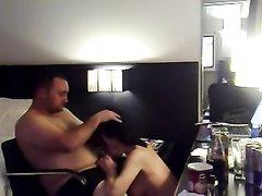 Любительский секс в позе наездницы хорошо после минета от нежной соседки с большими сиськами