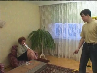 Русский секс дама с молодым фото 382-307