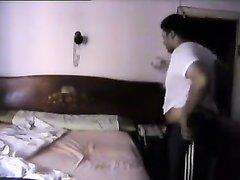 Арабская пара толстяков балдеет от секса на скрытую камеру в гостиничном номере
