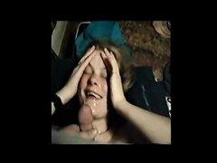 Сборник камшота или же сцен домашнего порно с буккакэ и окончаниями в рот