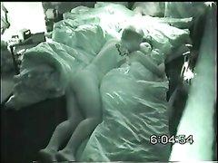 Скрытая камера в удовлетворительном качестве записала домашний секс