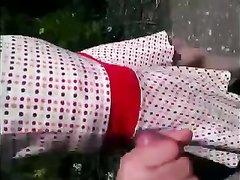Болгарская пара на природе трахается в любительском видео с целью удовлетворения