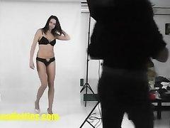 Домашнее видео с женским доминированием от худой немки с маленькими сиськами