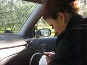 Итальянская пассажирка оказалась поклонницей любительского секса с таксистом