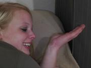 Толстая блондинка с огромной попой обрела себя в домашнем анальном порно