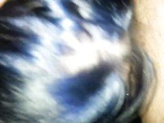 Брюнетка эмо в домашнем видео с буккакэ не снимая очков делает минет поклоннику