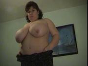 Зрелая толстуха для любительского порно одела колготки и умело возбудила партнёра
