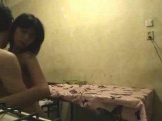 Ночной секс на скрытую камеру