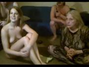 Любительское групповое порно со свингерскими парами, обменявшимися жёнами