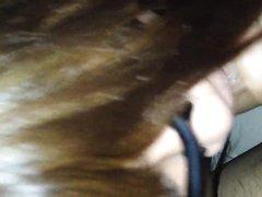 Надев очки зрелая японка в порно от первого лица отсасывает смуглый член