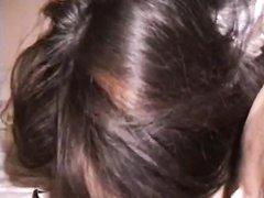 Сочная азиатка трахается во влажную дырочку в домашнем видео с коллегой