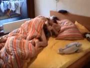 Интим молодой пары оказался на любительском видео благодаря скрытой камере