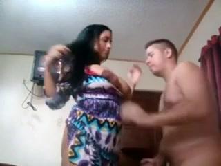 Грудастая бразильянка в порно трахается с любовником и дрочит член сиськами