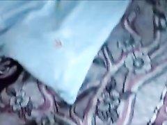 Латинка с маленькими сиськами в любовном видео шалит с озабоченным поклонником