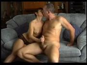 Зрелая жена в интимном видео изменила супругу с нежным и ласковым любовником